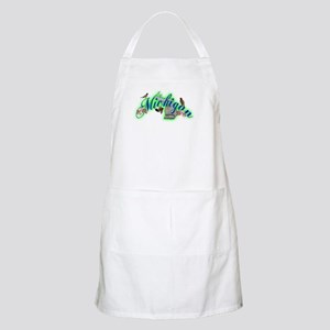 Michigan BBQ Apron