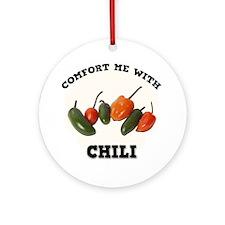Comfort Chili Ornament (Round)