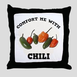 Comfort Chili Throw Pillow
