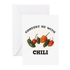 Comfort Chili Greeting Cards (Pk of 10)