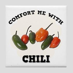 Comfort Chili Tile Coaster