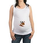 Peeking Baby Maternity Tank Top
