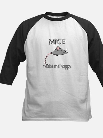 Mice Happy Kids Baseball Jersey