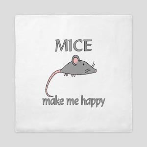 Mice Happy Queen Duvet