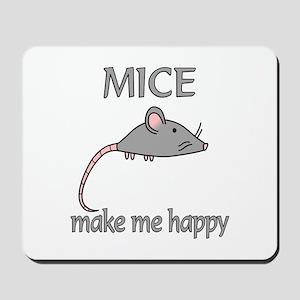 Mice Happy Mousepad