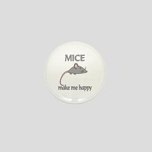 Mice Happy Mini Button