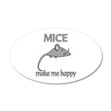 Mice Happy Wall Decal