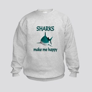 Shark Happy Kids Sweatshirt