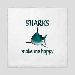 Shark Happy Queen Duvet