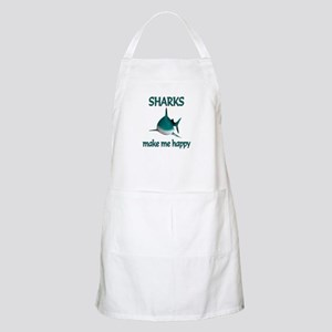 Shark Happy Apron