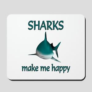 Shark Happy Mousepad