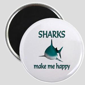 Shark Happy Magnet