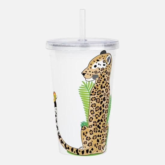 Animal Alphabet Jaguar Acrylic Double-wall Tumbler