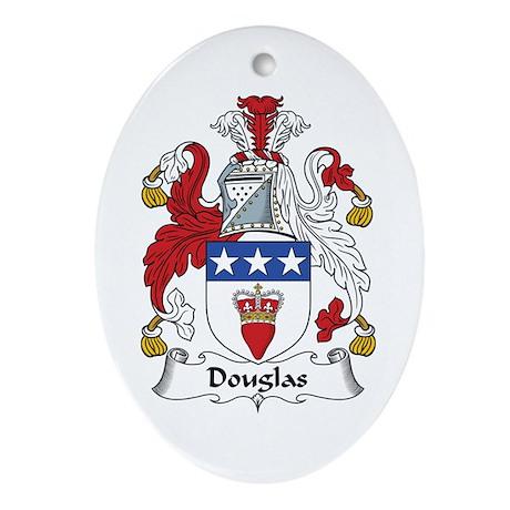 Douglas Oval Ornament