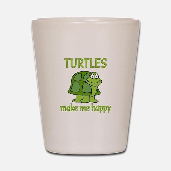 Turtle Happy Shot Glass