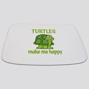 Turtle Happy Bathmat
