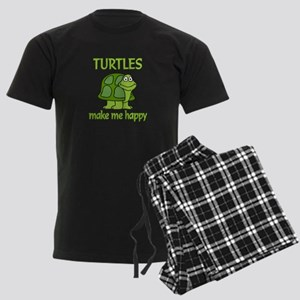 Turtle Happy Men's Dark Pajamas