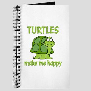 Turtle Happy Journal