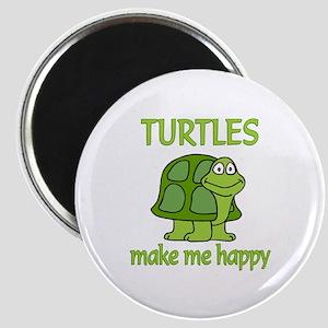 Turtle Happy Magnet