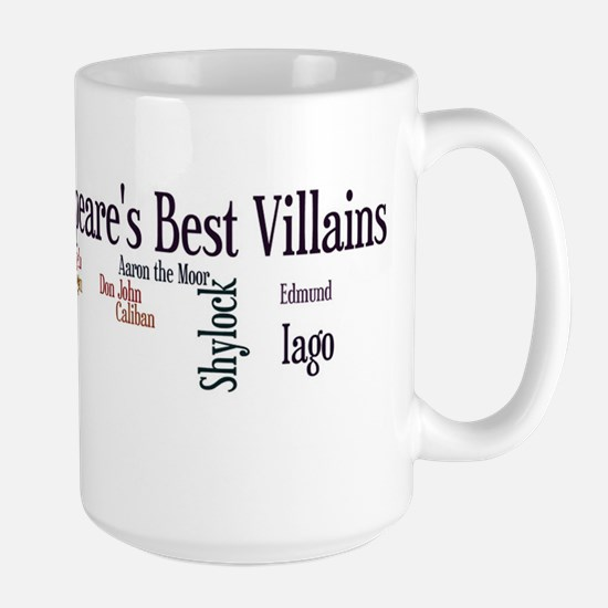 Shakespeare's Best Villains Mugs