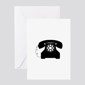 Old Style Telephone Greeting Cards