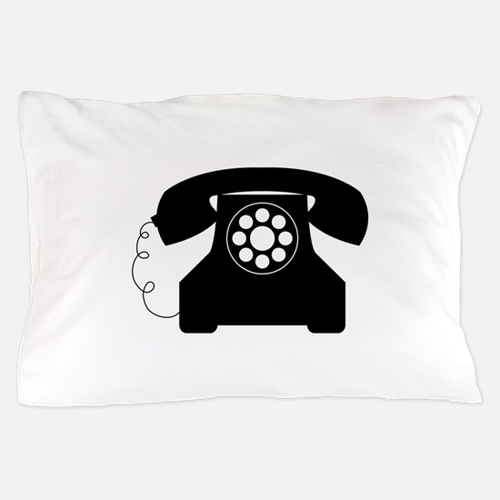 Old Style Telephone Pillow Case