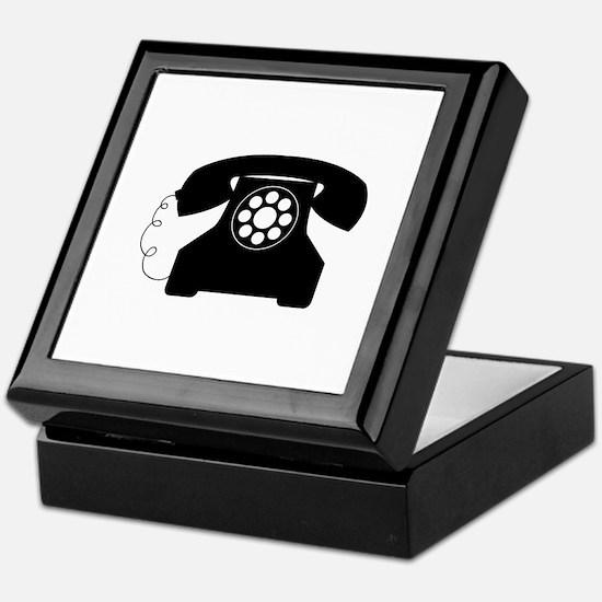 Old Style Telephone Keepsake Box