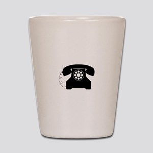 Old Style Telephone Shot Glass