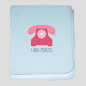 Phone Princess baby blanket