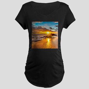 Sunrise Beach Maternity T-Shirt