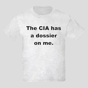 My CIA Dossier Kids Light T-Shirt