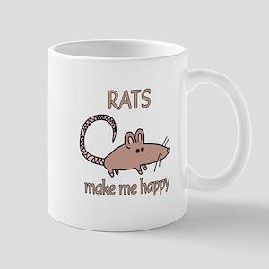 Rat Happy Mug