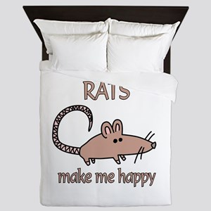 Rat Happy Queen Duvet