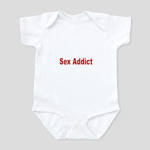 Sex Addict Infant Bodysuit