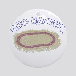 Rug Master Ornament (Round)