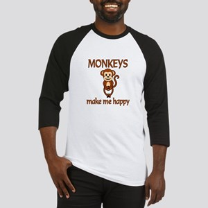 Monkey Happy Baseball Jersey