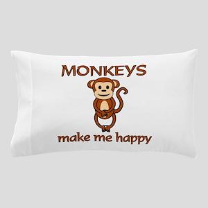 Monkey Happy Pillow Case