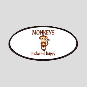 Monkey Happy Patches