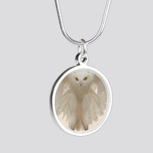 Ghost Owl Necklaces