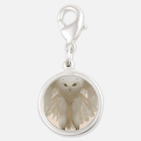 Ghost Owl Charms