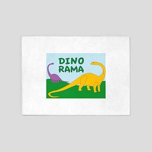 DinoRama 5'x7'Area Rug