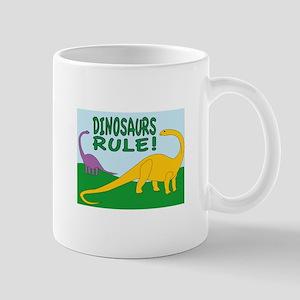 Dinosaurs Rule Mugs