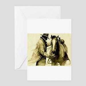 Saddle Up Greeting Cards