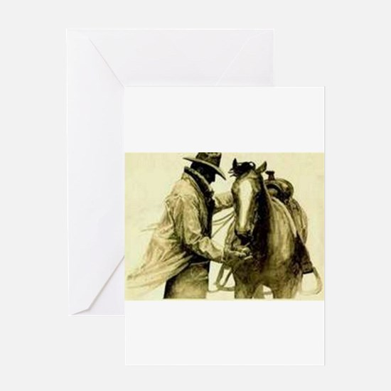 Saddle Up Greeting Cards