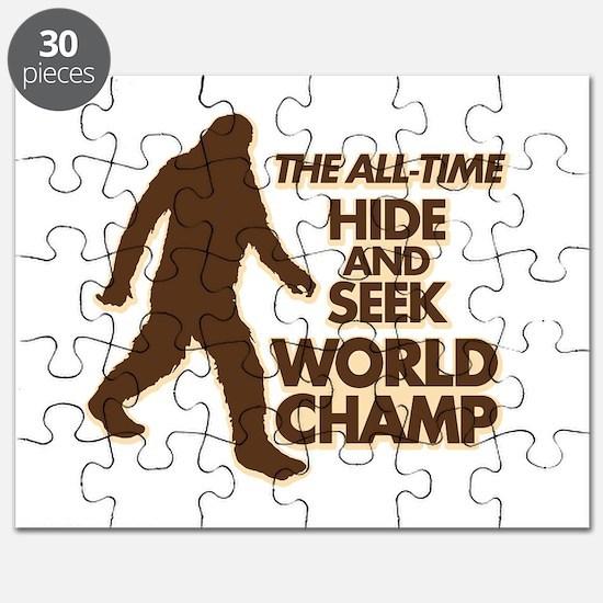 BIGFOOT - THE ALL-TIME HIDE & SEEK WORLD CHAMP Puz