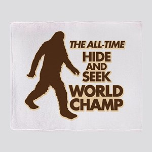 BIGFOOT - THE ALL-TIME HIDE & SEEK WORLD CHAMP Thr