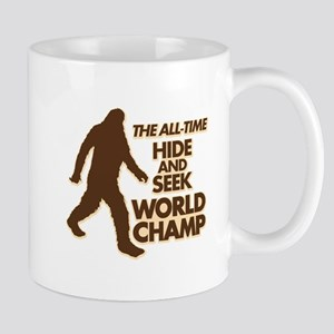 BIGFOOT - THE ALL-TIME HIDE & SEEK WORLD CHAMP Mug