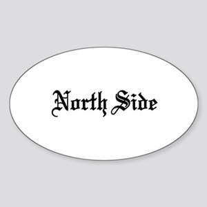 North Side Oval Sticker