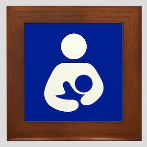 Breast Feeding Advocacy Framed Tile