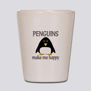 Penguin Happy Shot Glass
